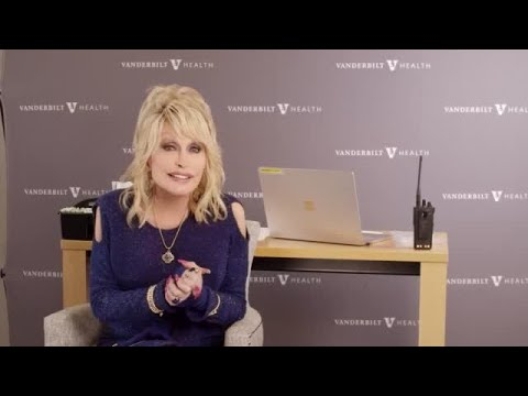 VIDEO: Dolly Parton gets her COVID-19 vaccine