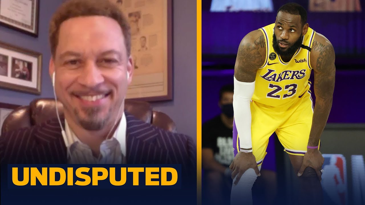 LeBron isn't playing well in Bubble, talks Lakers loss to Thunder — Broussard   NBA   UNDISPUTED