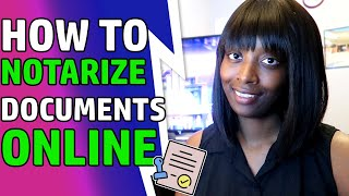 How To Notarize Docuṁents Online | Remote Notary