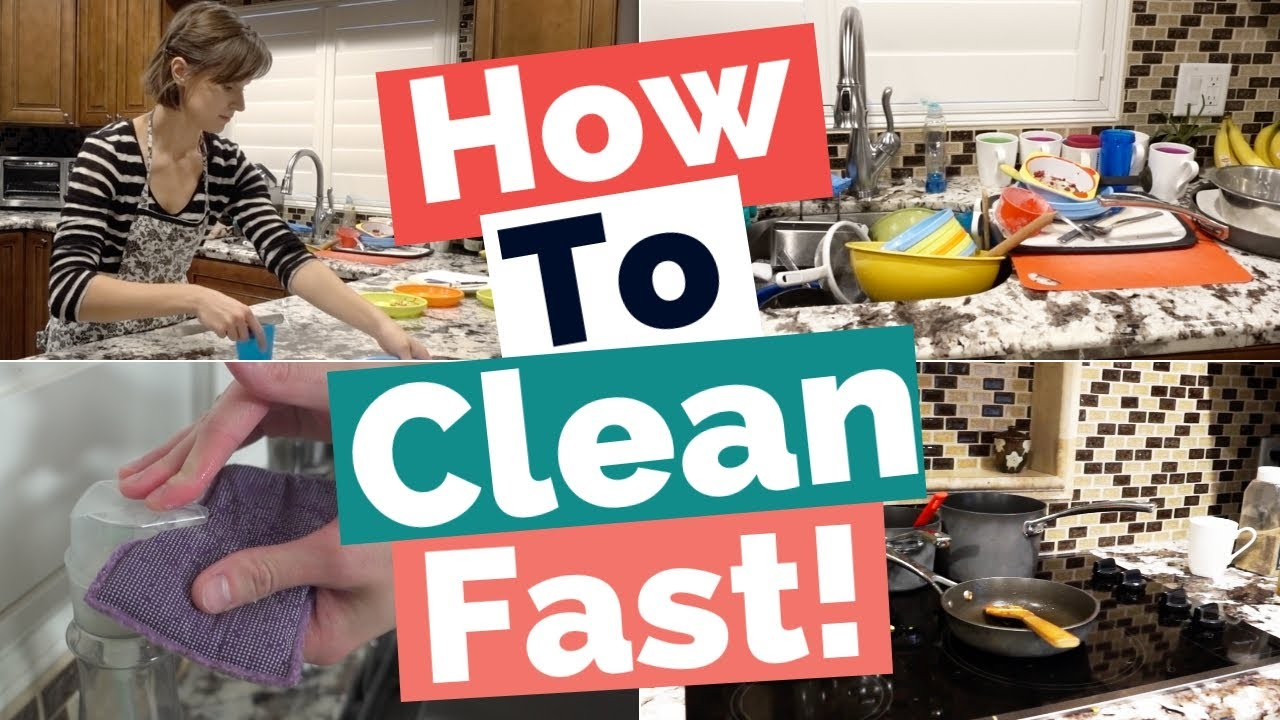 How To Clean Fast Sd Your House My Cleaning Routine