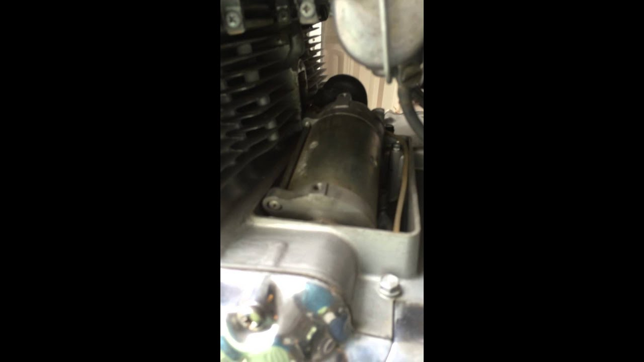 cb750 1975 k5 starter motor replacement and installation youtube  cb750 1975 k5 starter motor replacement and installation