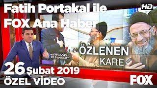 """Ak Partili seçmene """"Senin için kazanacağım"""" dedi! 26 Şubat 2019 Fatih Portakal ile FOX Ana Haber"""