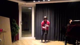 W.A.Mozart Clarinet Concerto K.622 1st Mov 강미루