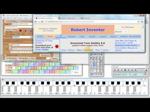 How to Retune a Score with Tune Smithy - Tutorial for Sibelius - Retuned to 7 Equal