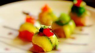 STUNNING Sashimi Balls /Sushi Appetizer/寿司摆盘技巧系列