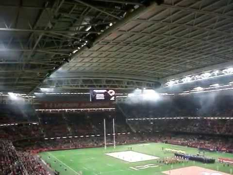 Wales v Australia November 2017. The Last Post!