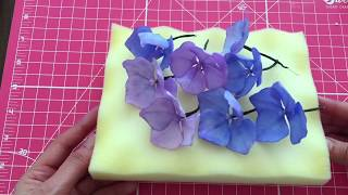 HOW TO MAKE GUMPASTE/SUGAR HYDRANGEAS