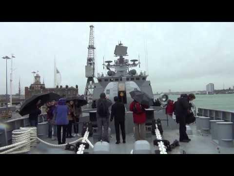 Onboard The Indian Warship INS Tarkash  Original