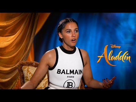 Can 'Aladdin' Stars Finish The Disney Song Lyric? | Mena Massoud, Naomi Scott, Alan Menken
