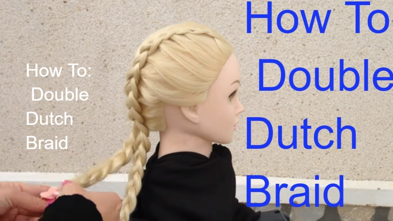 French braiding tips - Kim Kardashian Hair Braids Tips By Amal Hermuz Hair Tv How To Braid Hairstyles Dutch Braid