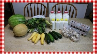 Henry & Shorty's Country Store Haul ~ Farmer's Market Grocery Haul ~ Noreen's Kitchen