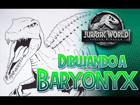 Dibujando A Baryonyx Jurassic World Fallen Kingdom Youtube Juega gratis a este juego de clásicos y demuestra lo que vales. dibujando a baryonyx jurassic world fallen kingdom