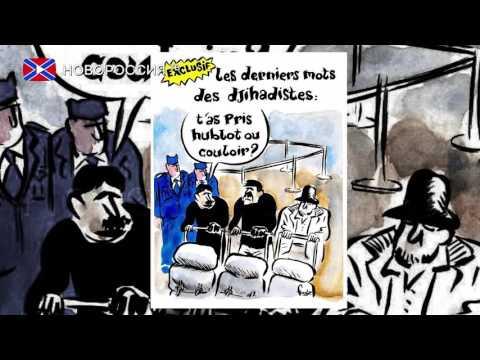 Карикатуры от Шарли на теракты в Брюсселе