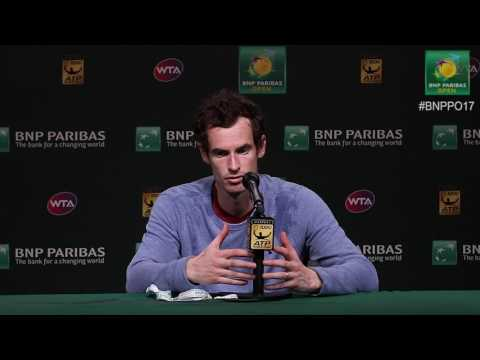 BNP Paribas Open 2017: Andy Murray 2R Press Conference