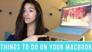 10 Things To Do On Your MacBook Air!