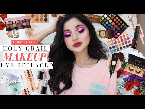 HOLY GRAIL MAKEUP I'VE REPLACED | Old Favorites + the New Faves that made them irrelevant