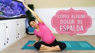 ejercicios para embarazadas cmo aliviar dolor de espalda