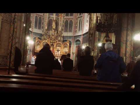 "Organ Improvisation ""Homilie"" (Priest walking to the pulpit TLM)"
