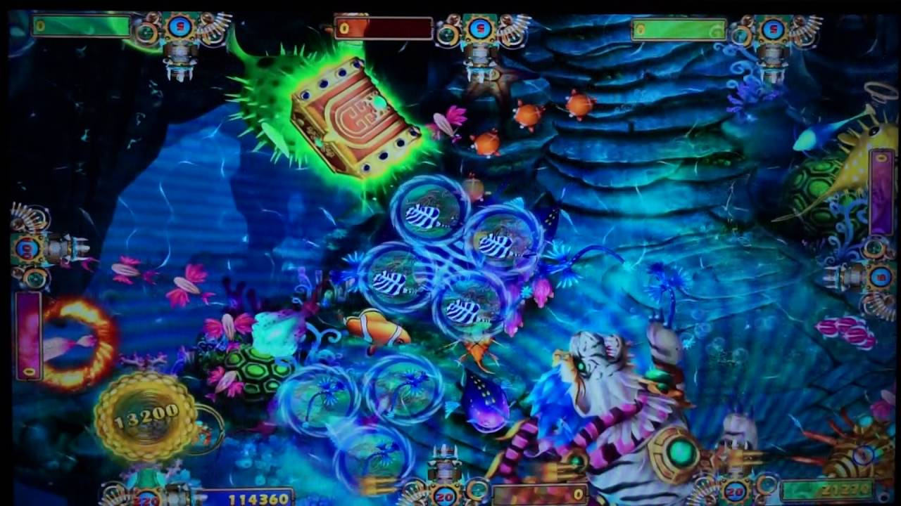 Phoenix Realm Skilled Fish Hunter Game Machine