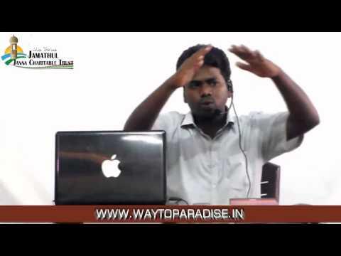 Tamil Islam Convert Abdur Rahman @ Murugan Way to Paradise Class