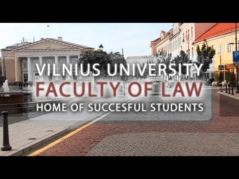 "Vilnius University ""Home of Succesful Students"" (unoffficial comercial)"