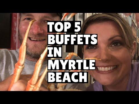 Best 5 Seafood Buffets In Myrtle Beach