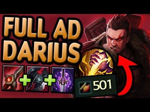 FULL AD DARIUS JUNGLE - The REAL Dunk (League Of Legends)