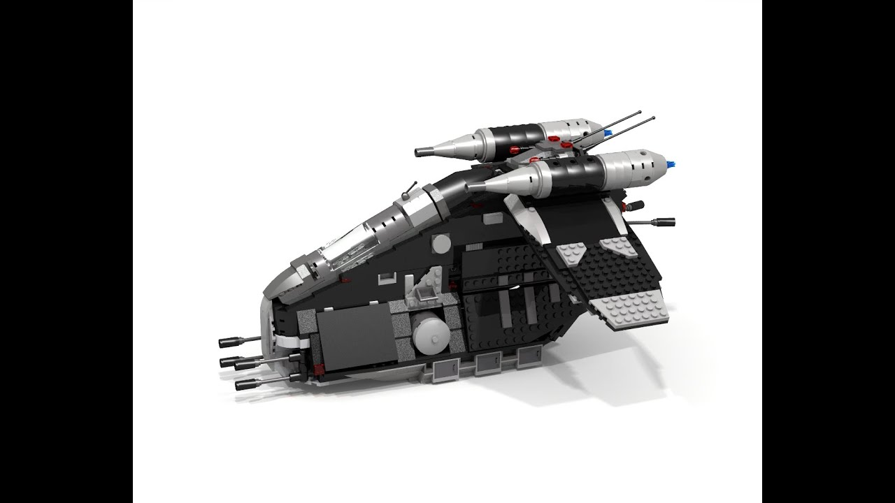 how to build a lego star wars republic gunship instructions