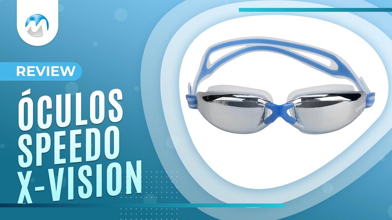 5d07dbf15 Óculos de Natação Speedo X Vision - Review  1 - YouTube