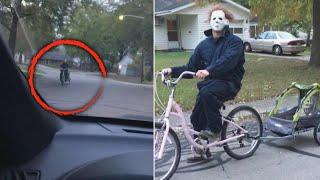 Husband Surprises Wife in Epic Halloween Prank
