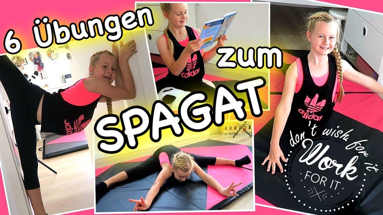 Mavies Turnstundemit 6 übungen Zum Spagat Anfänger