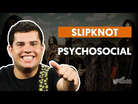 Psychosocial - Slipknot (aula de guitarra)