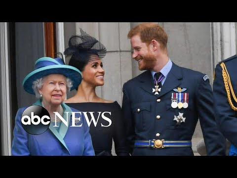 Queen voices her support for Prince Harry and Meghan