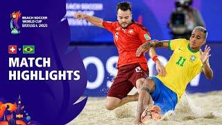 Switzerland v Brazil FIFA Beach Soccer World Cup 2021 Match Highlights
