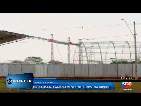 Macacos causam cancelamento de show em Birigui