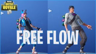 New FREE Dance MOVEMENT | New Dance FREE FLOW-Fortnite Battle Royale