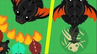 Mope.io - GETTING KING DRAGON AND TROLLING WITH TAILSLAP - Mope.io Bests Moments