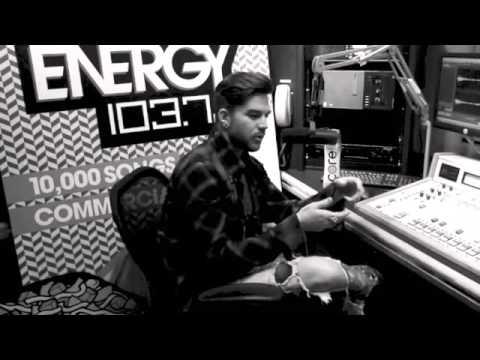Adam Lambert and A J  Get Real « ENERGY 103 7