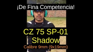 CZ-75 SP01 Shadow (Orange) -Calibre 9x19mm