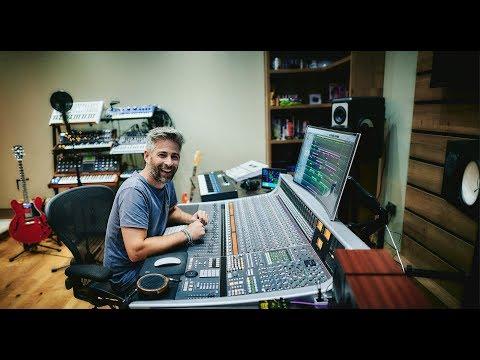 Recording Studio Tour - Dan Gautreau's new studio in Scotland.