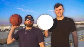 Epic Trick Shot Battle 3 | Dude Perfect(It's time for Dude Perfect and Brodie Smith's most epic battle yet! Thanks to Ruffles for sponsoring this video! Click HERE to sign up for the Ruffles Ridge ..., 2017-01-30T22:54:59.000Z)