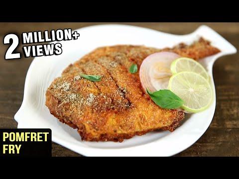 Pomfret Fry Recipe | Fish Fry Indian Style | Fish Recipes | Fish Fry Recipe by Varun Inamdar
