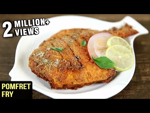 Pomfret Fry Recipe | Fish Fry Indian Style | Fish Recipes | Fish Fry Recipe By Varun Inamdar
