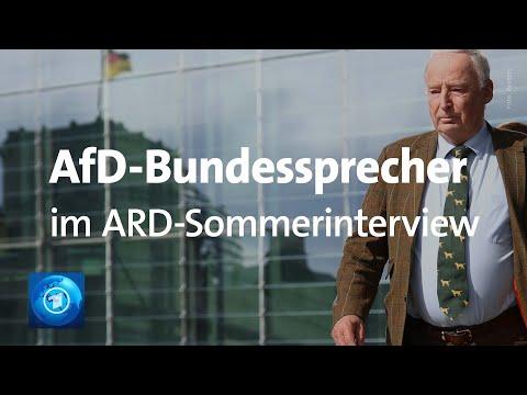 ARD-Sommerinterview mit Alexander Gauland (AfD)