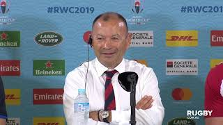 Rugby World Cup 2019: Australia Vs England, England Press Conference