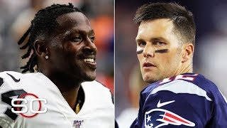 Antonio Brown must adjust to a new role with Tom Brady and the Patriots - Ryan Clark | SportsCenter Video