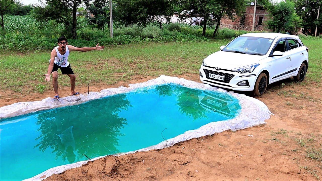 Driving Our Car Underwater | गाडी को पानी में कभी मत डुबाना | Khel Khatam
