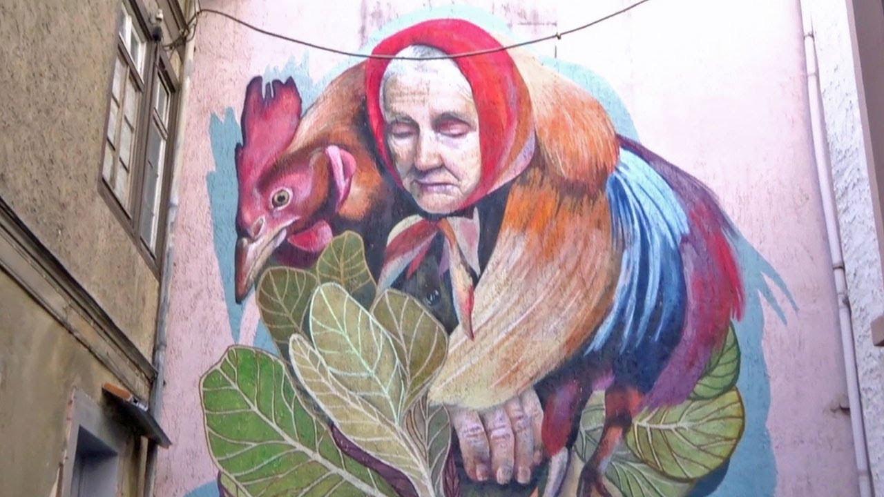 Streetart graffiti offenbach
