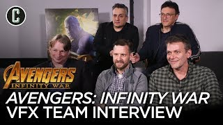 Infinity War: Russo Brothers on VFX & Avengers: Endgame