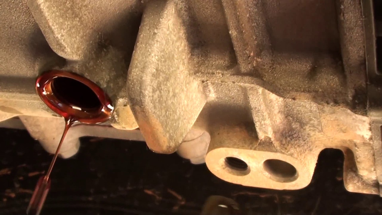 Check Transmission Fluid >> How to change the transmission fluid on a 2013 Hyundai Santa Fe Sport 2WD - YouTube